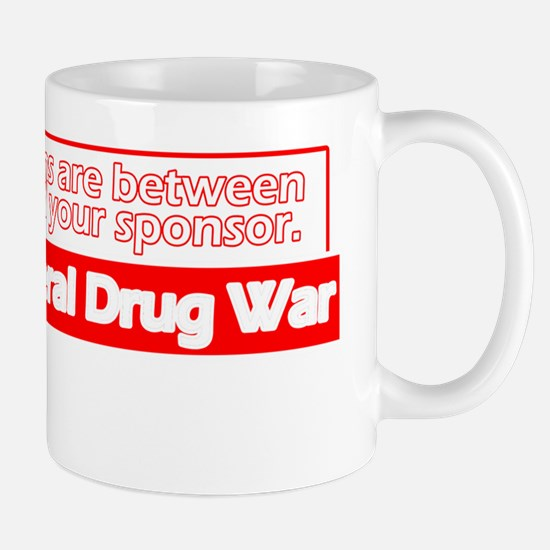 End-the-Drug-War-Dark-Shirt Mug