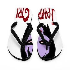 yack vampire girl Flip Flops