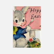 HOPPY Easter Rectangle Magnet