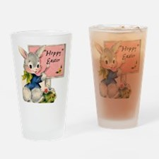 HOPPY Easter Drinking Glass