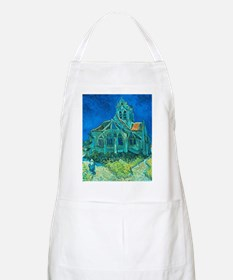 van gogh church Apron
