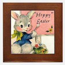 HOPPY Easter Framed Tile