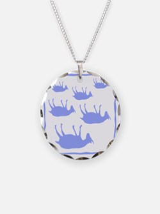 fainting goat_sq_Blue Necklace