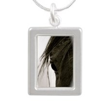 Eyecatcher Silver Portrait Necklace