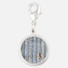 tinRoofing_SQ Silver Round Charm