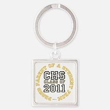 CHS_ProudParent_W02 Square Keychain