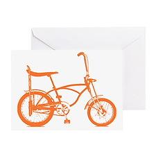 orange krate Greeting Card