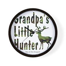 grandpas-little-hunter Wall Clock