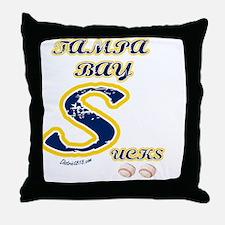 tampa_bay_sucks Throw Pillow