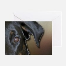 Beauceron Graphic 9 Greeting Card