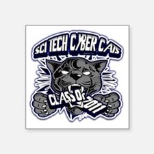 "SCITECH_Custom_BW10 Square Sticker 3"" x 3"""