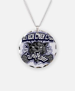 SCITECH_Custom_BW10 Necklace Circle Charm