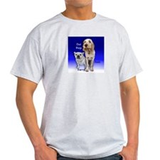 Our Boys - Darryl & Josh - Ash Grey T-Shirt