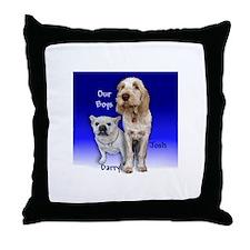 Our Boys -Darryl & Josh - Throw Pillow