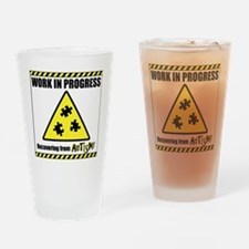 autismworkinprogress Drinking Glass