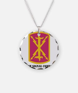 DUI - 256th Signal Coy With  Necklace
