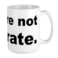 You Are Not Illiterate Funny Mug