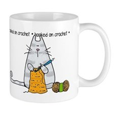 Hooked on crochet II Small Mug