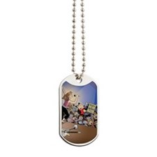 concert poster Dog Tags