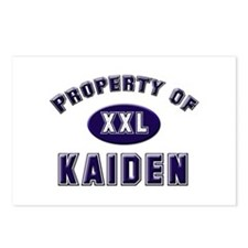 Property of kaiden Postcards (Package of 8)