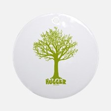 TREE hugger (lime) Ornament (Round)