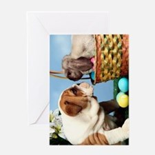 BD Easter journal Greeting Card