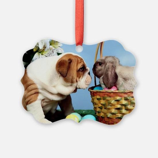 BD Easter post Ornament