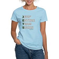 jets_suck_black T-Shirt