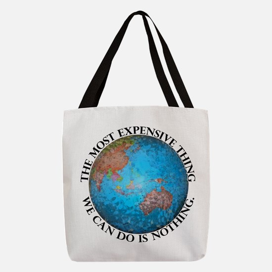 Global Cost Polyester Tote Bag