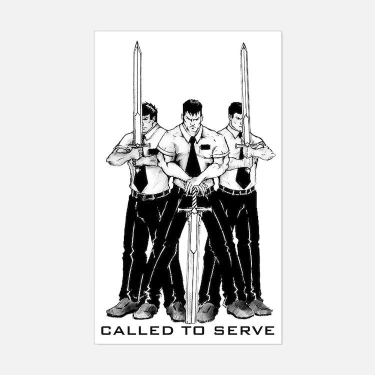missionarys2 Sticker (Rectangle)