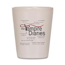 vamp quotes dark Shot Glass