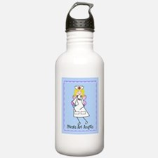 Nurses Are Angels Water Bottle