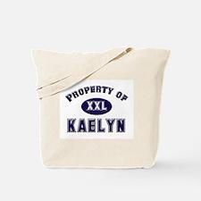 Property of kaelyn Tote Bag