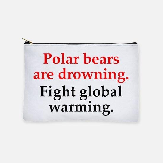 Polar Bears Makeup Pouch