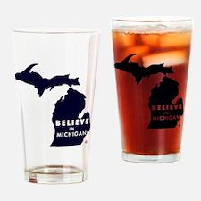 Believe_in_MI Drinking Glass