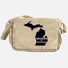 Believe_in_MI Messenger Bag