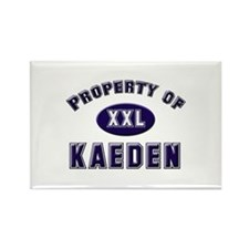 Property of kaeden Rectangle Magnet