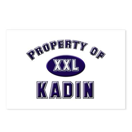 Property of kadin Postcards (Package of 8)