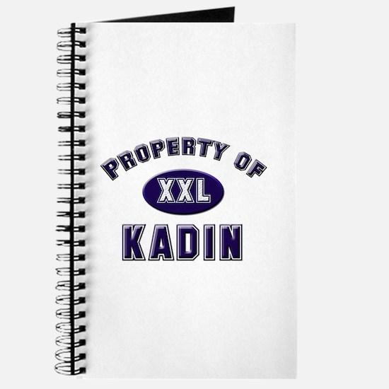 Property of kadin Journal