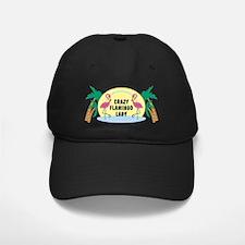 Crazy Flamingo Lady Baseball Hat