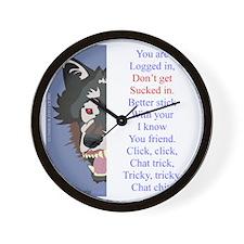 TCT3wht Wall Clock