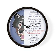 TCT5wht Wall Clock