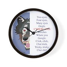 TCT1 wht Wall Clock
