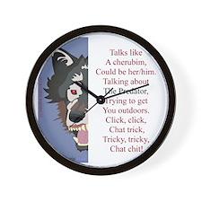 TCT4wht Wall Clock