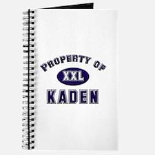 Property of kaden Journal