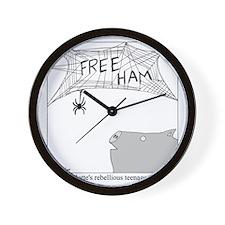 Free Ham Wall Clock