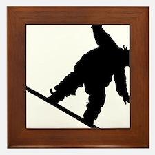 snowboarderB01 Framed Tile