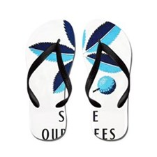 WPA-Spare-Our-Trees Flip Flops