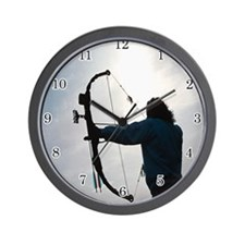 archery Wall Clock