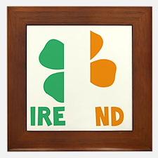 Ireland - dk Framed Tile